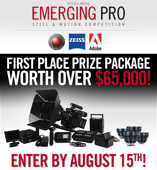 Seventh Annual Emerging Pro Photo Competition