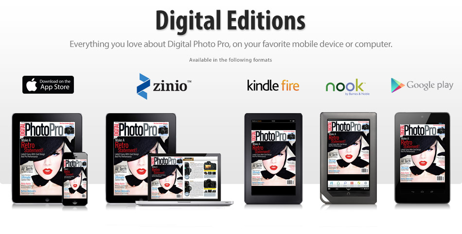 Digital Photo Pro Digital Editions