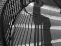 Shadow On Stairway