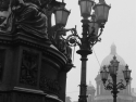 Foggy Rainy Day In St Petersburg