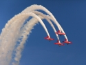 Aeroshell Team T-6 Texans Smoke Loop