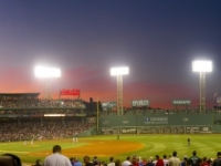 Sunset Over America's Old Ball Park