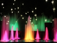 Colorful Fountain Show