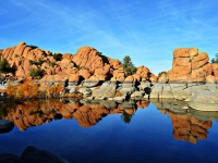 Reflections At Watson Lake