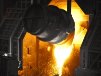 Industrial Steel Mill
