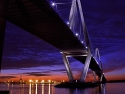 Blue Hour: Ravenel Bridge