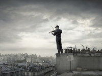 Fiddler Over Paris