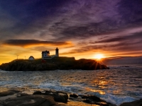 Daybreak On The Nubble