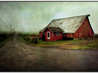 The Barn And The Fog