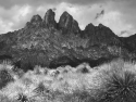 Storm Clouds Over The Organ Mountains