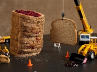 Peanut Butter & Jelly Construction