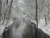 Final Snow On River
