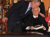 Billy Graham & Gw Bush Book Signing North Carolina Jonathan Green Celebrity Photography Usa