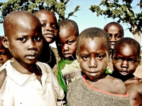 Children Of War. Uganda, Africa