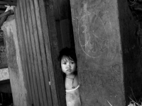Litle Girl In The Slum Of Phillippine