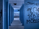Blue Bathroom, Dark City