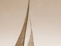 A 12 Meter Sloop Under Sail