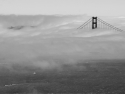 Golden Gate Bridge Fogged In.