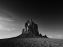 Shiprock And Fading Light