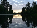 Sunset Over The Chehalis River