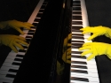 Rubbergloves With Piano