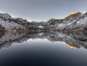 Lake Sabrina Fall Snow
