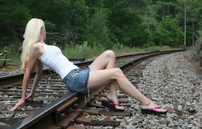 Diana On The Rails 1