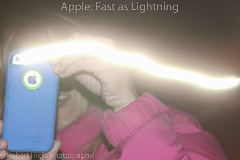 Apple Fast As Ligjtning