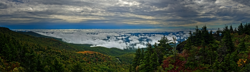 Clouds Over Pisgah
