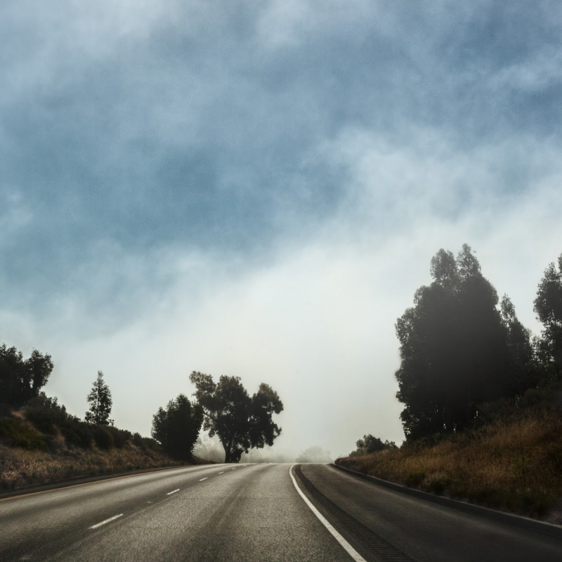 Driving On Hwy 101