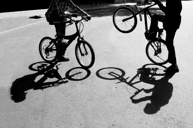 Kids And Shadow