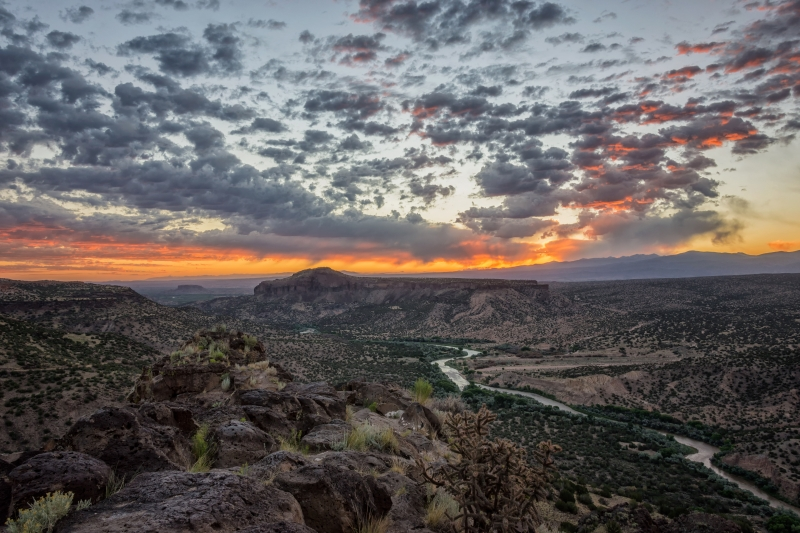 Rio Grande River Sunrise 2 – White Rock, New Mexico
