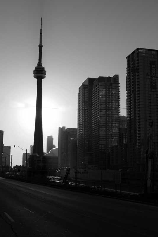 Sunrise In Toronto