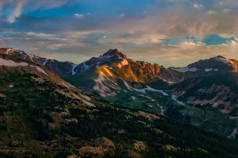 Sunrise On The Continental Divide