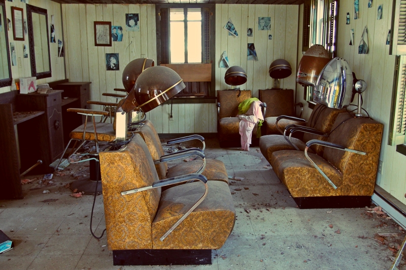 The Abandoned Hair Salon
