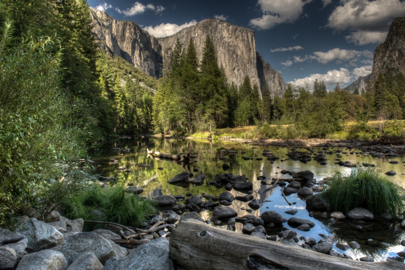 Valley View At Yosemite National Park