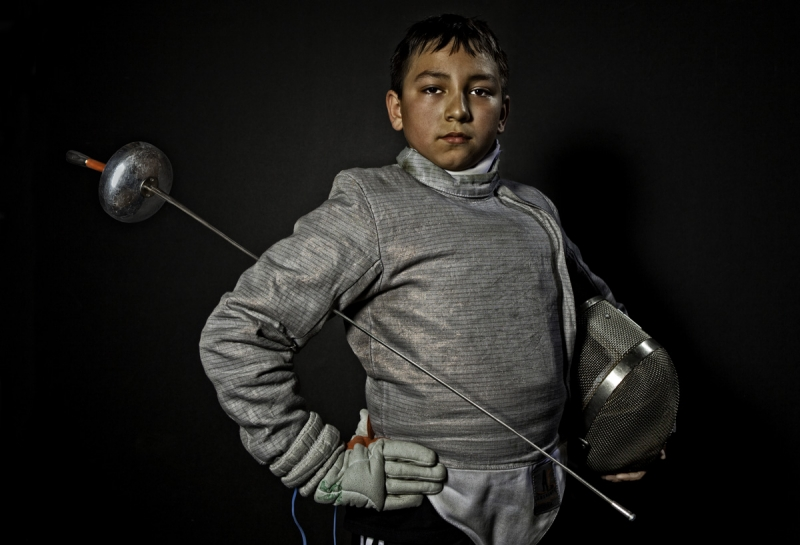 Kid Fencer 4
