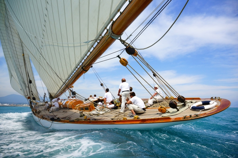 On The Way For Victory !!! Les Voiles D'Antibes