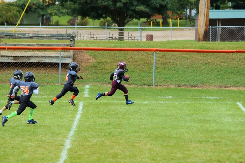 Running For The Touchdown.