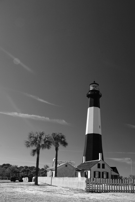 The Lighthouse On Tybee Island