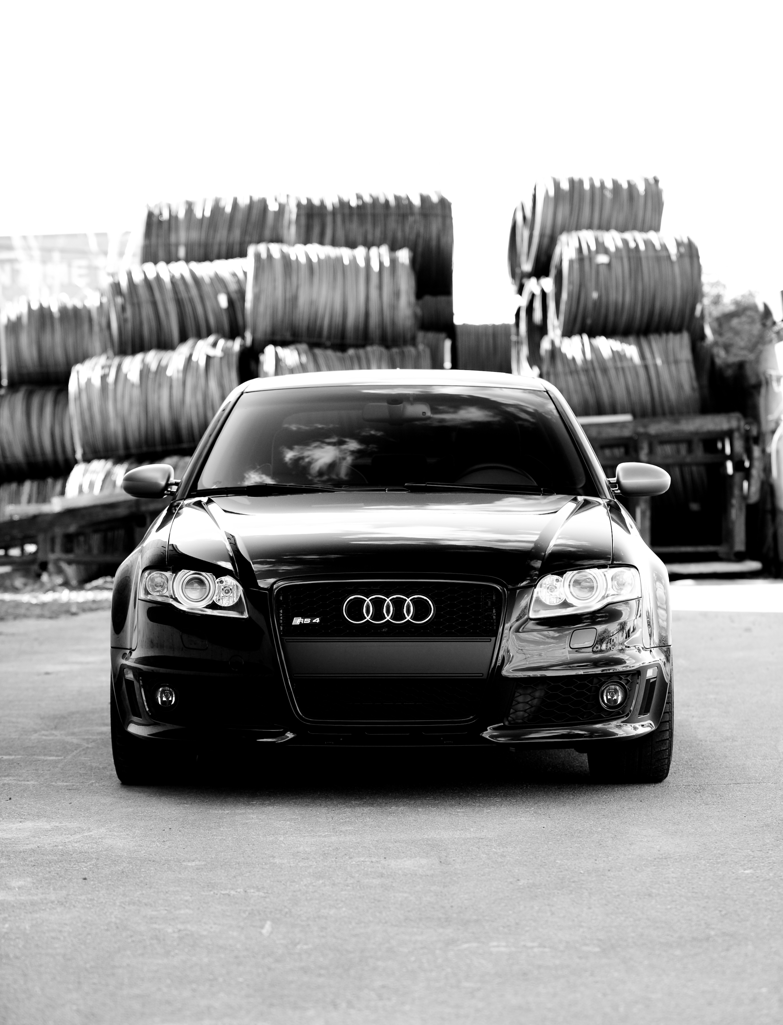 Audi RS4 2008 Phantom Black Edition