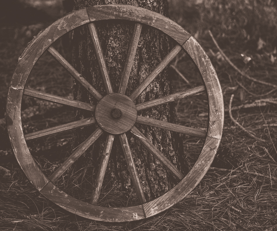 Wagon Wheel found on my farm.