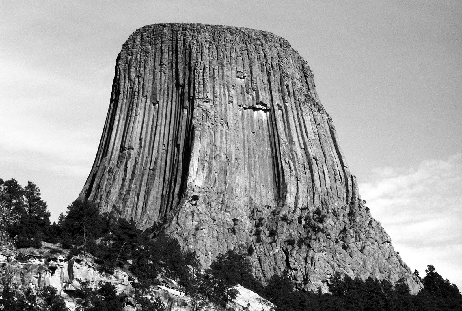 Devil's Tower UCAP-B+W