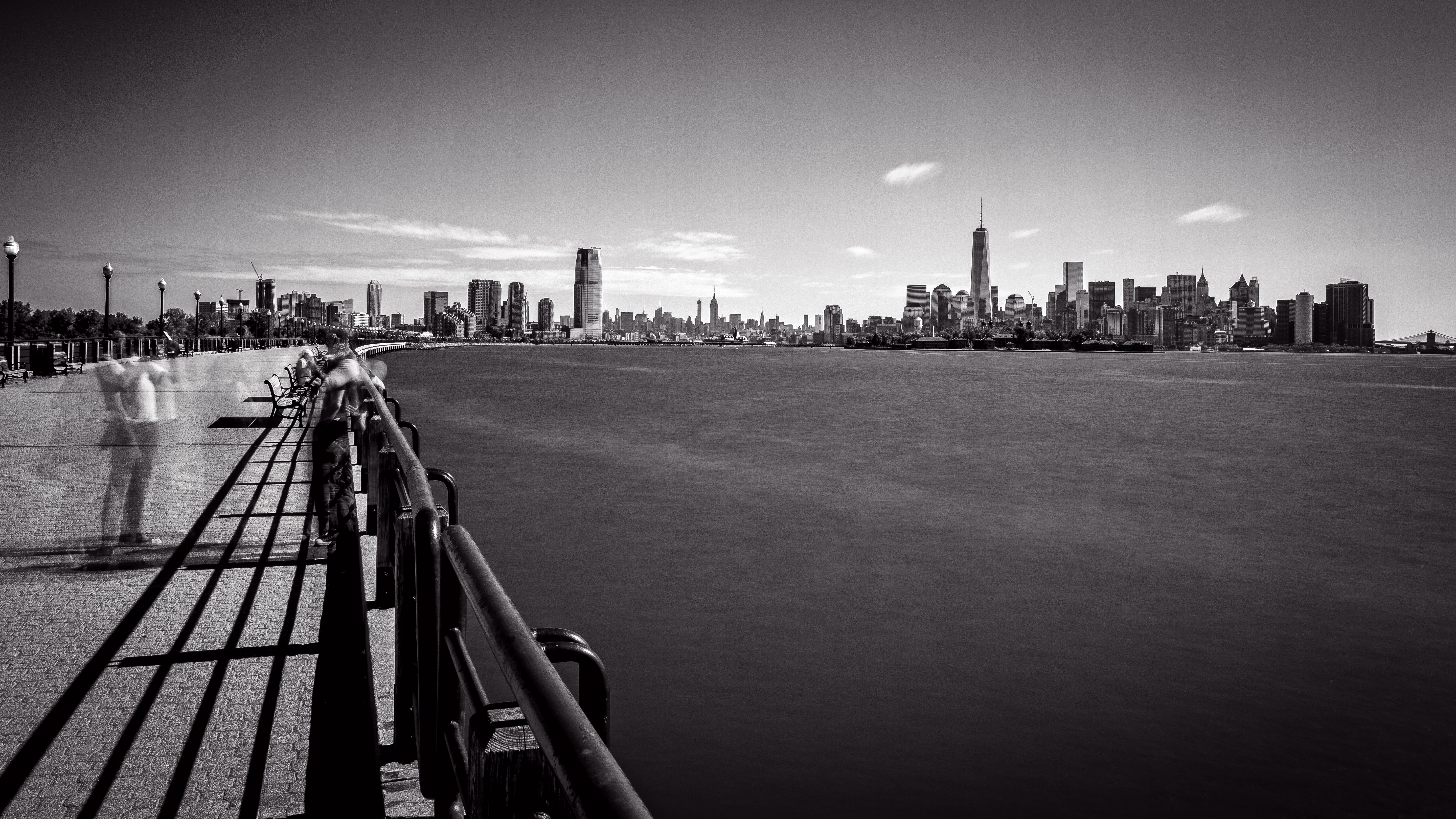 Looking toward New York