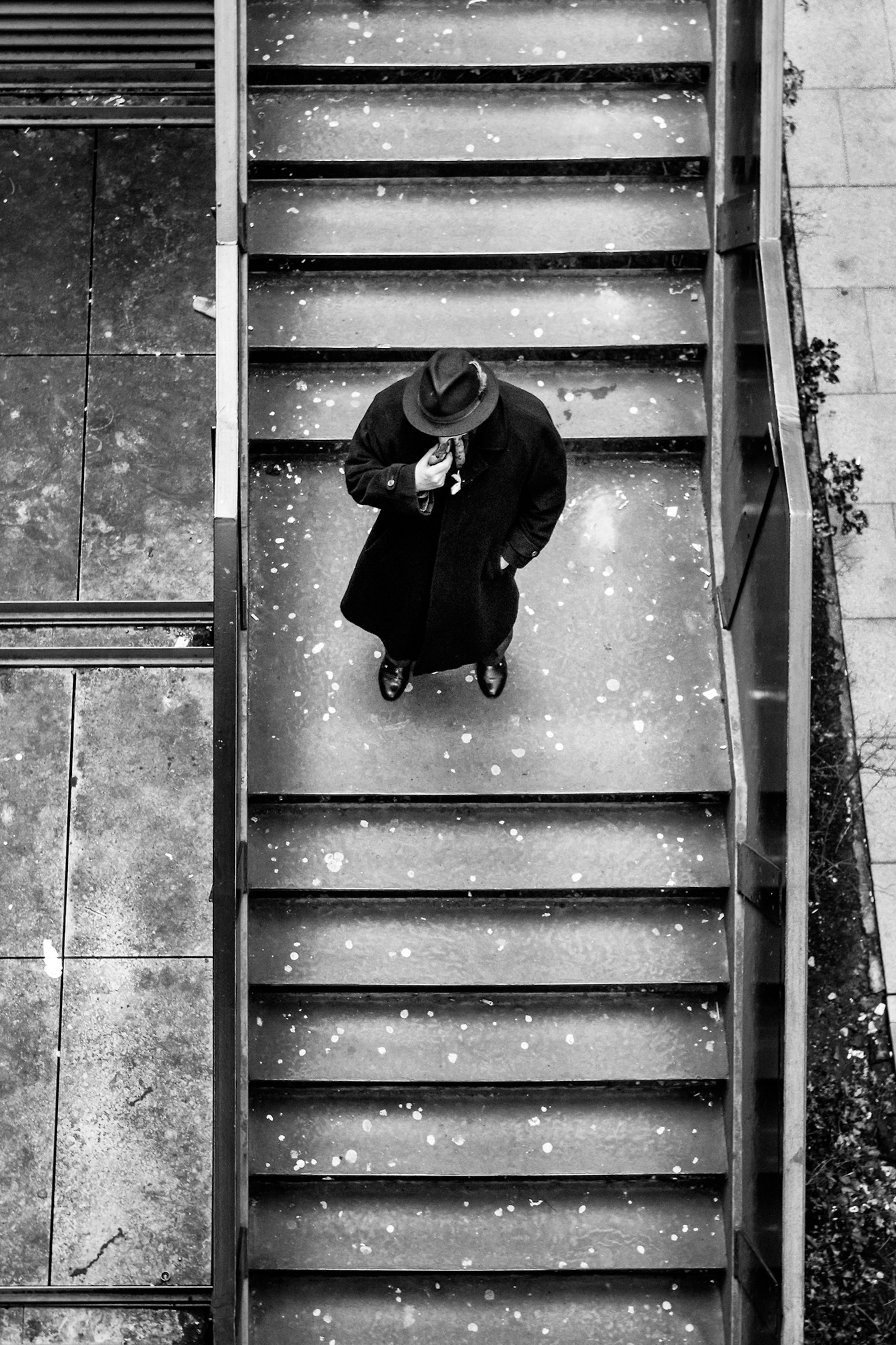 Marcus Leoni-THE MAN ON THE STAIRS-BR