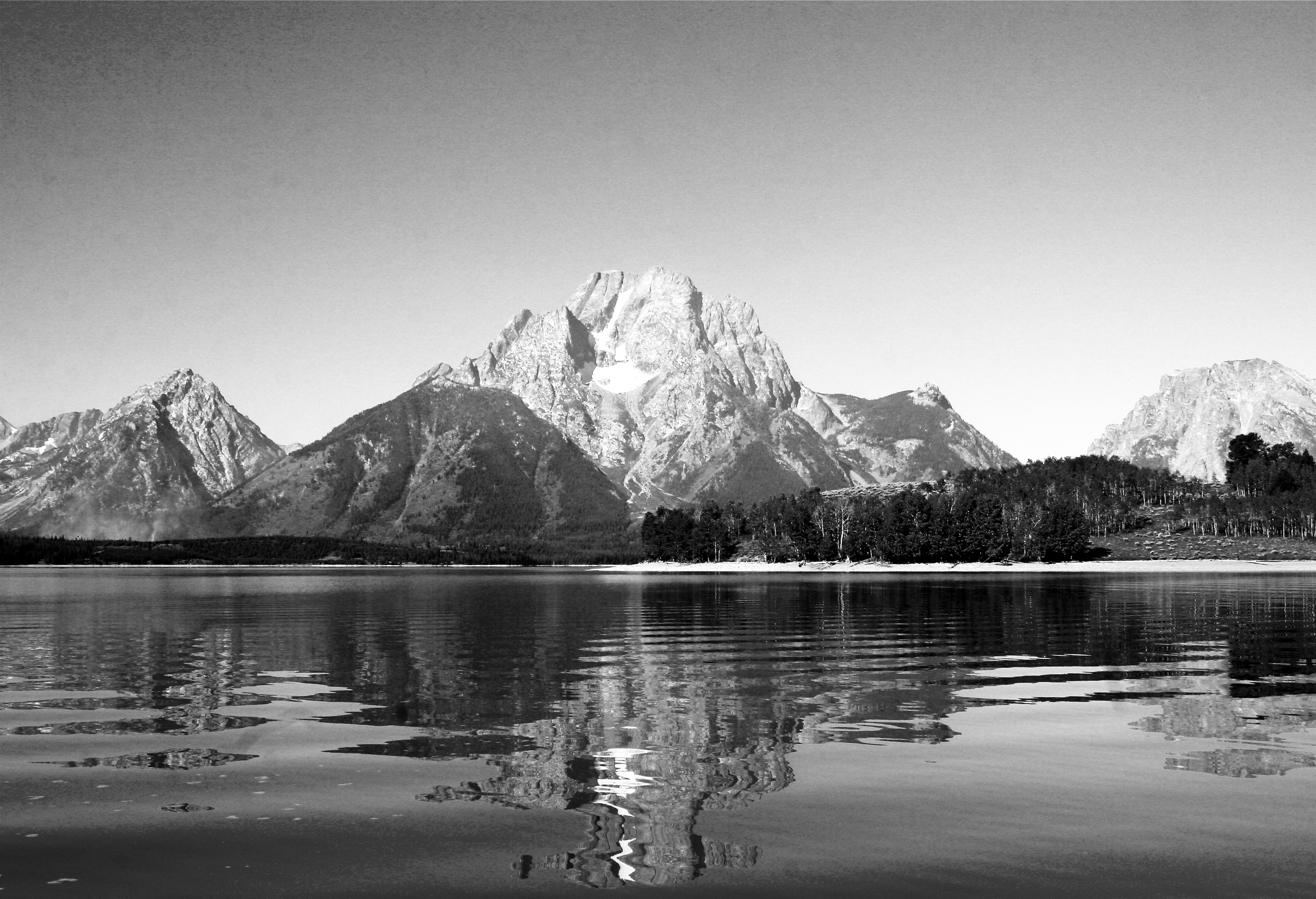 Mt. Moran and Jackson Lake