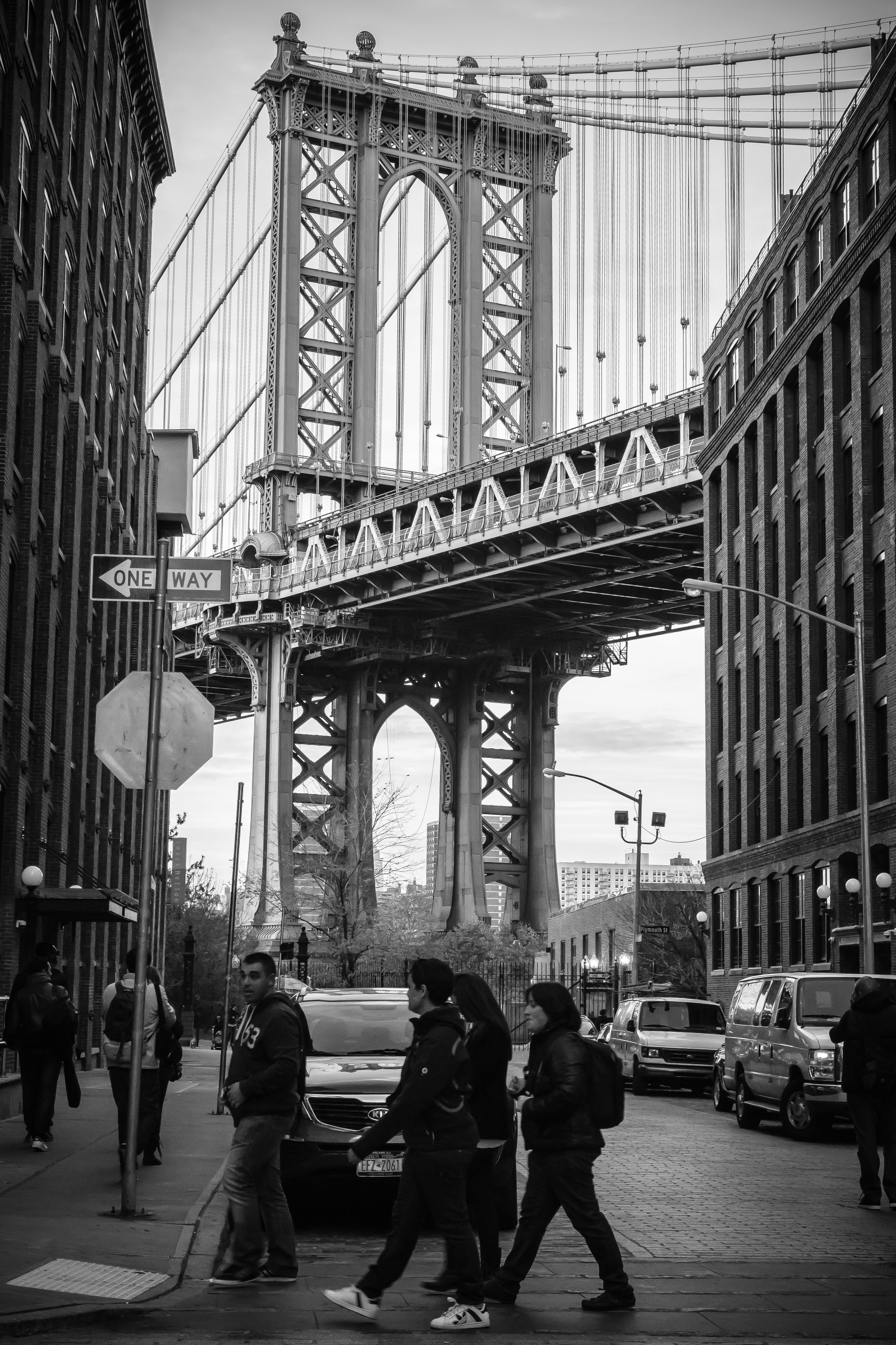 Pablo Barros – Manhatan Bridge by Brooklyn