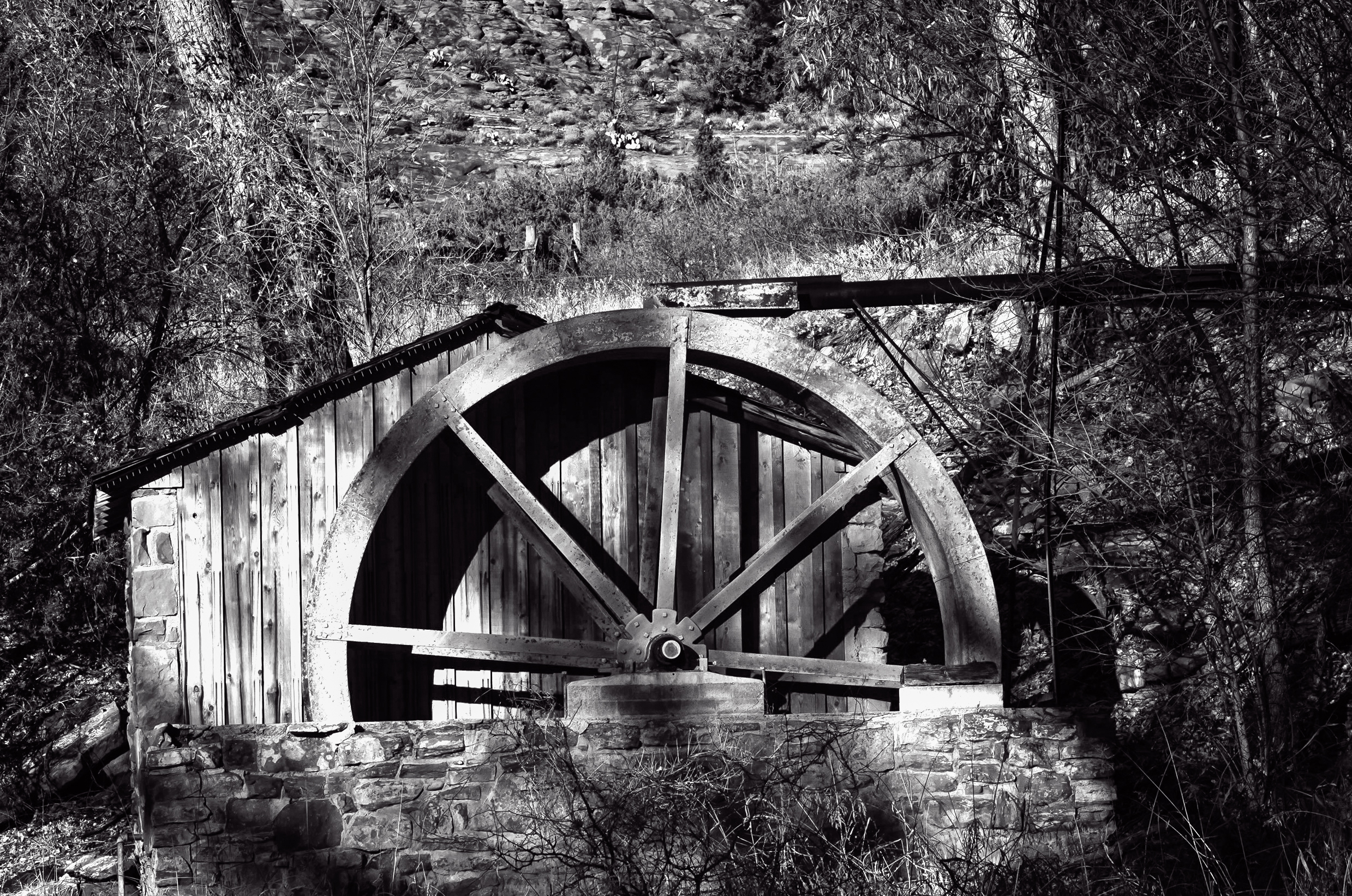 Sedona Water Wheel