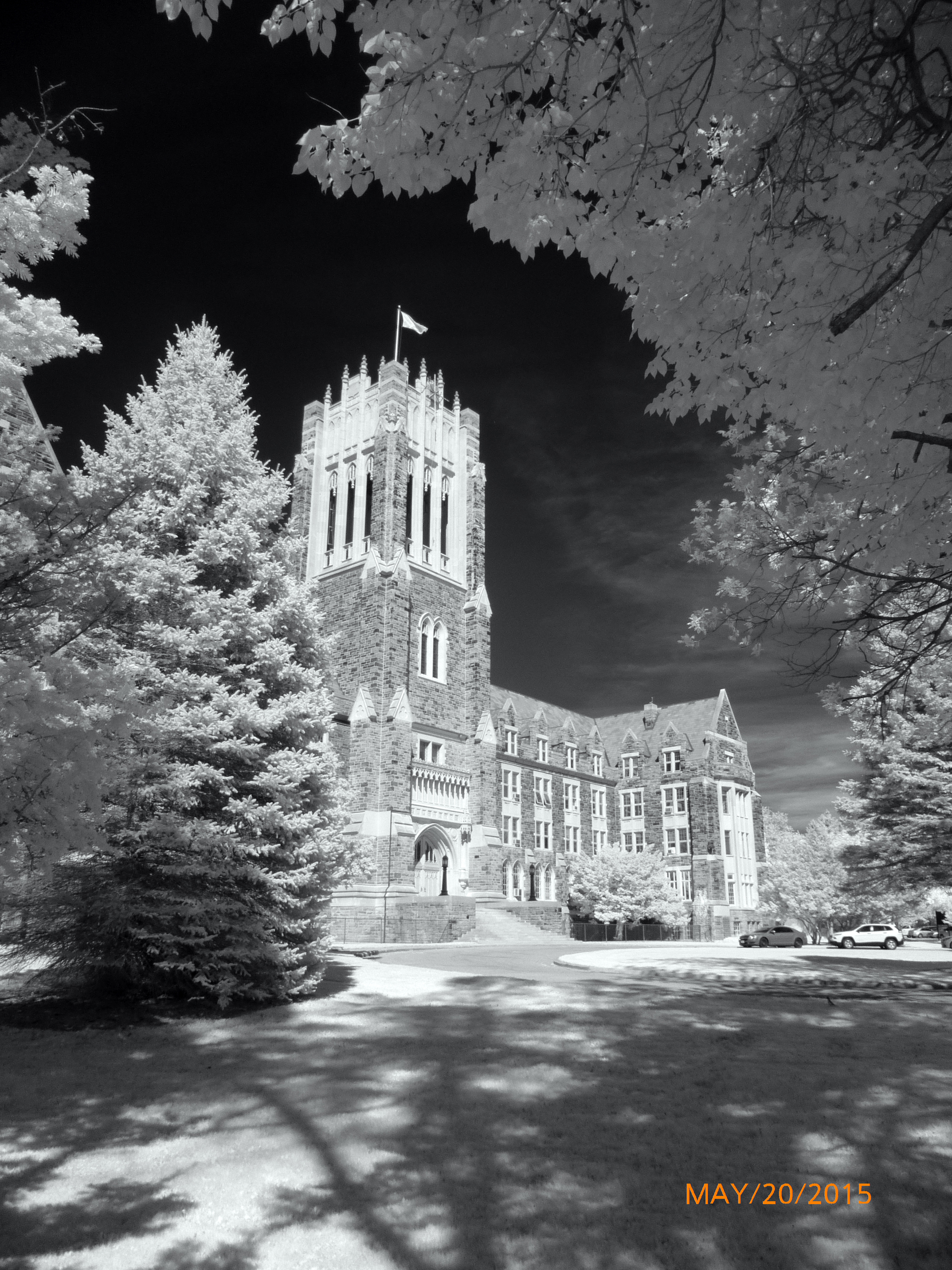 seminary in infrared light- smaller