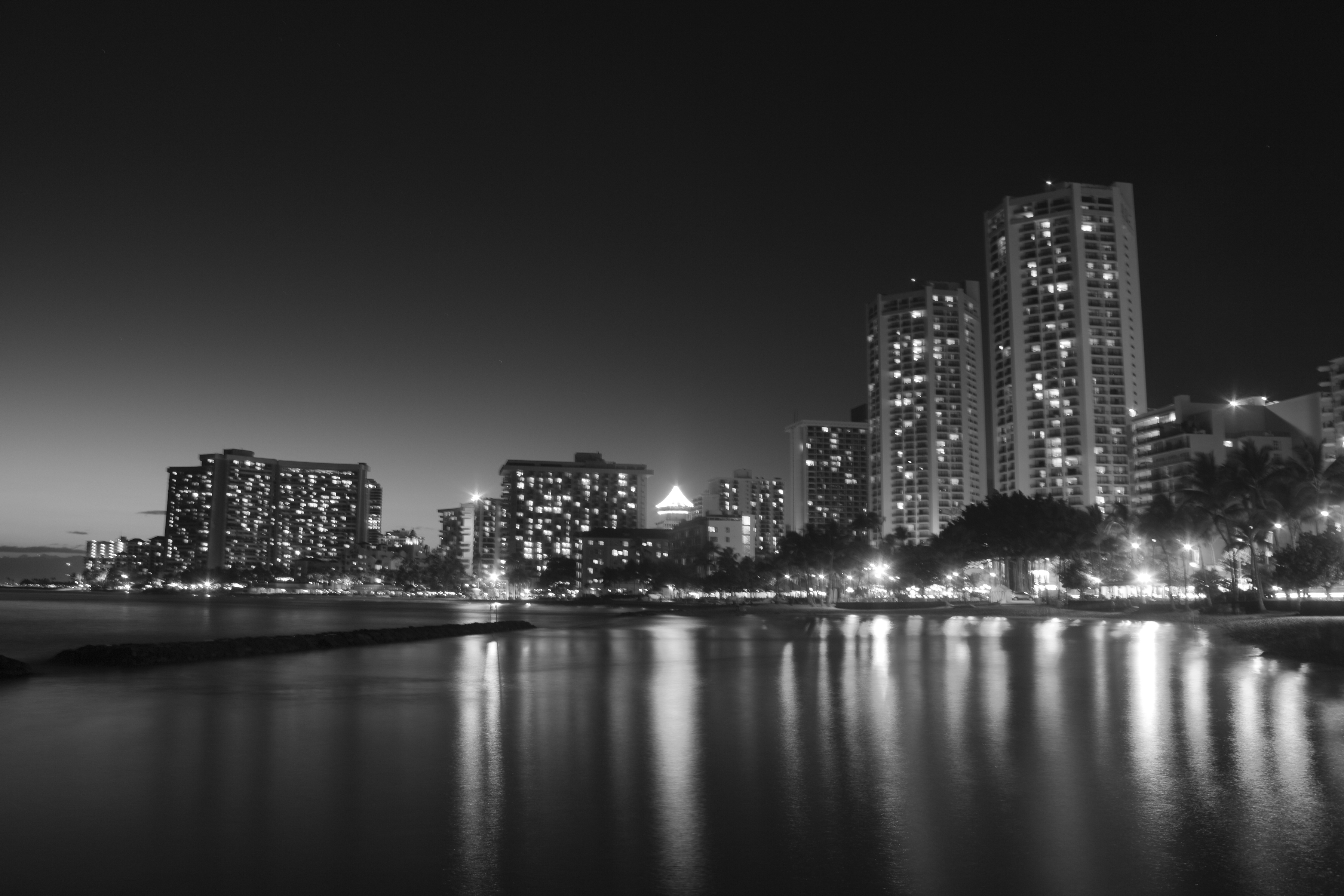 Shadows of the Night BW
